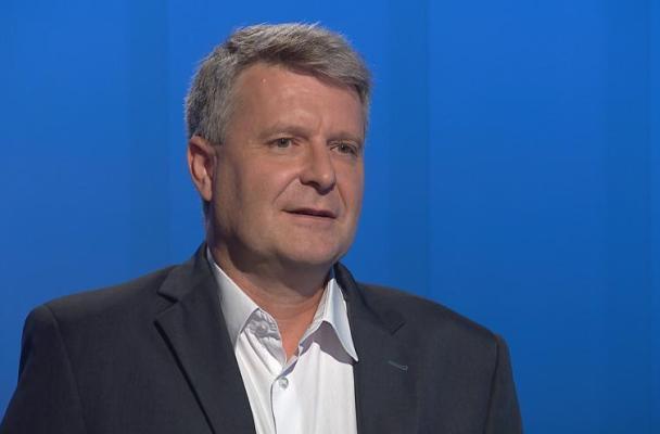 Místopředseda ÚV KSČM Stanislav Grospič (zdroj: ČT24)