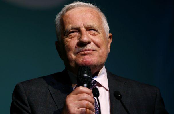 Exprezident Václav Klaus (zdroj: Reuters)