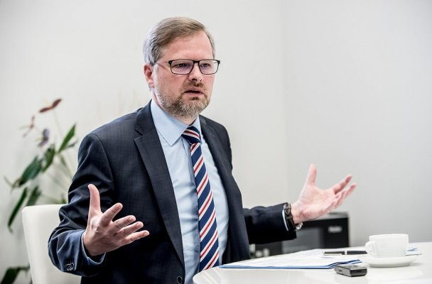 Předseda ODS Petr Fiala (zdroj: deník.cz)