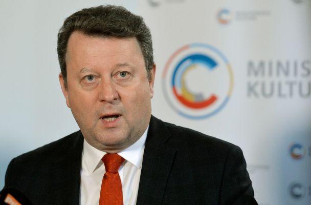 Ministr kultury Antonín Staněk (zdroj: Aktuálně)