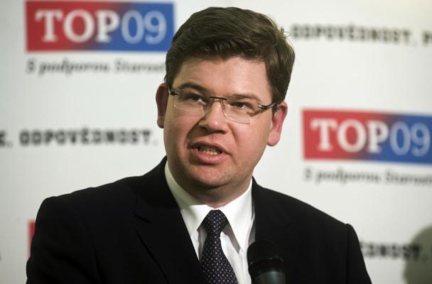 Předseda TOP09 Jiří Pospíšil (zdroj: ČT)