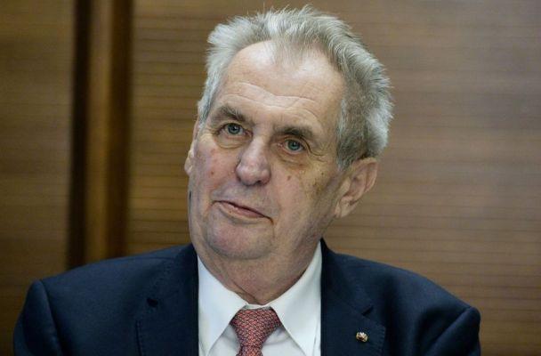 Prezident ČR Miloš Zeman (zdroj: Aktuálně)